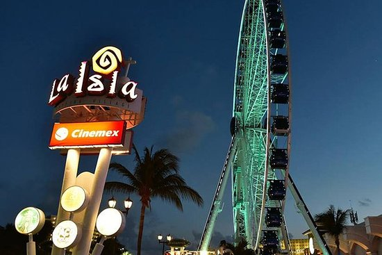 Gran Rueda Cancun: Access to the...