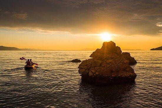 Romantisk Sunset Sea Kayaking
