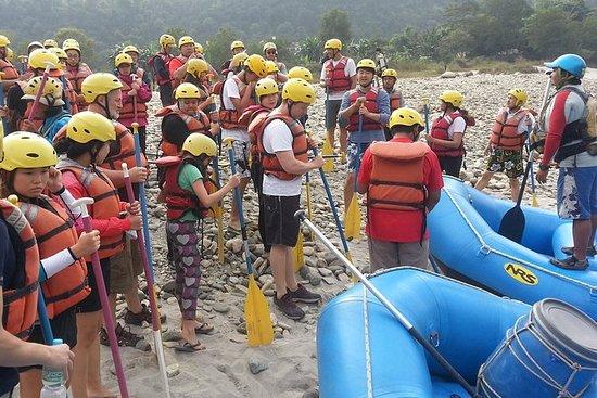 Rafting sur la rivière Karnali