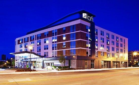Finally A Starwood Hotel In Downtown Milwaukee Review Of Aloft Wi Tripadvisor