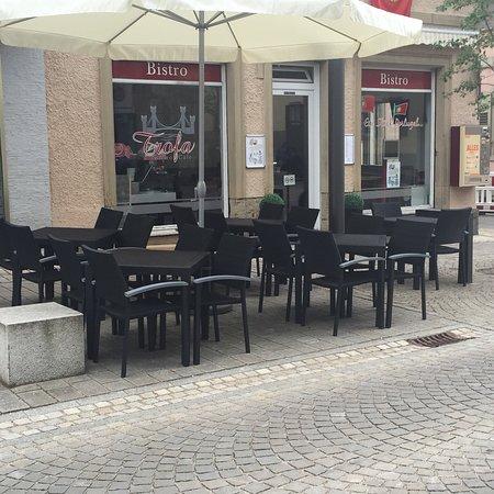 Eppingen, Jerman: Bistro Café Trofa