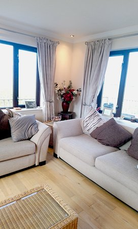 Benbecula Island, UK: Guests lounge