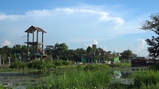 Sikiajhora jungle boat ride Alipurduar ,sikiajhora eco park view from boat