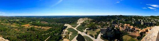 Chateau des Baux de Provence: View from tower