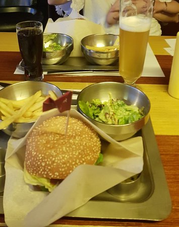 Ресторан The Burger: Burger Menu