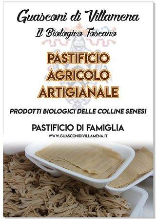 San Rocco a Pilli, Italy: Pasta bio siena