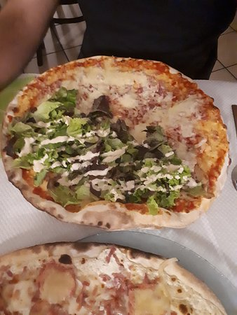 tarte et pizza kébab