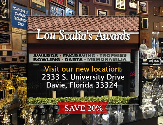 Lou Scalia's Awards