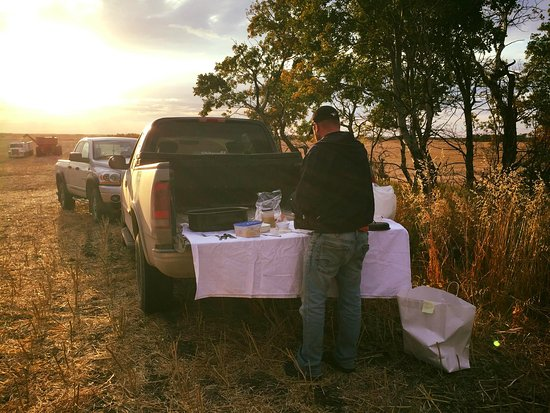Whitewood, Canada: Harvest meals