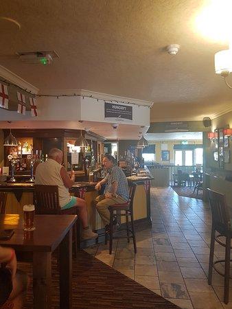 The Lurcher: bar area