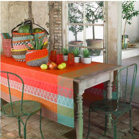 Banner Elk, Carolina do Norte: Bastide table linens By Le Jacquard Francais