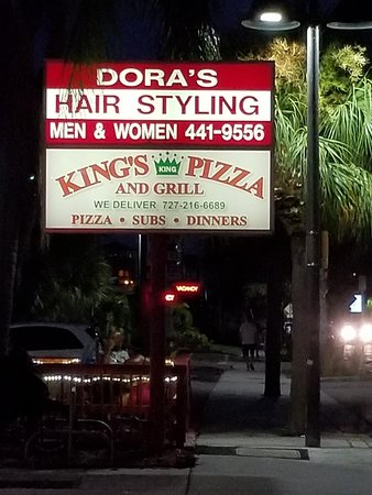 King's Pizza: Kings Pizza and Grill. Great food! Great staff! Italian cuisine with a hint of Italy