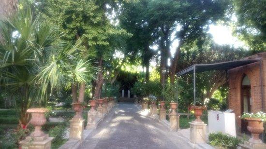Free access to beautiful garden