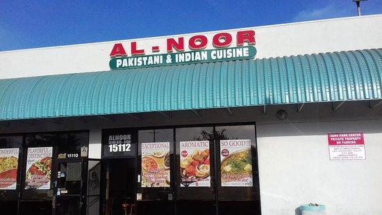 Al-Noor Restaurant: Entrance