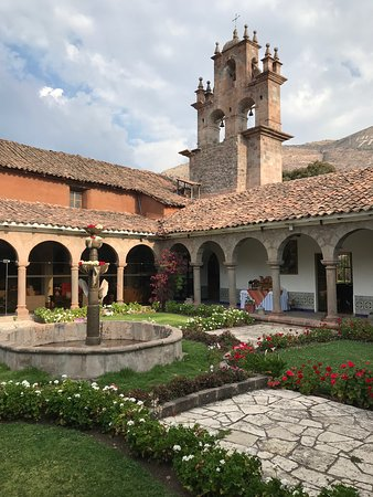 Condor Travel: this is a convent we stayed at in Sacred Valley