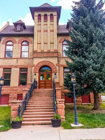 Rico, CO: The Old Courthouse