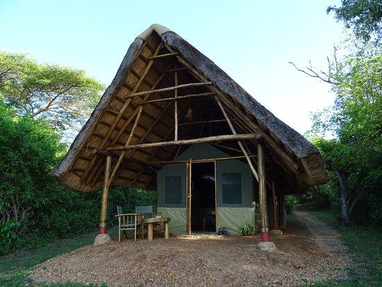 Sehr schöne Lodge am Nil