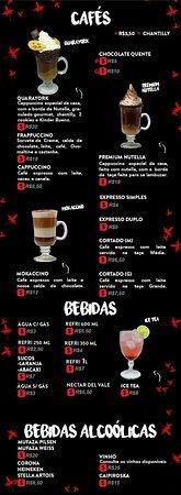Quaraí, RS: Cafés e bebidas