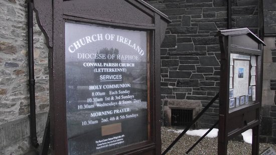 Conwal Parish Church : Conwall Parish Church, Church of Ireland, Letterkenny, County Donegal.