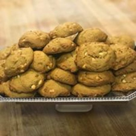 Mount Morris, PA: Pumpkin white chocolate chip cookies