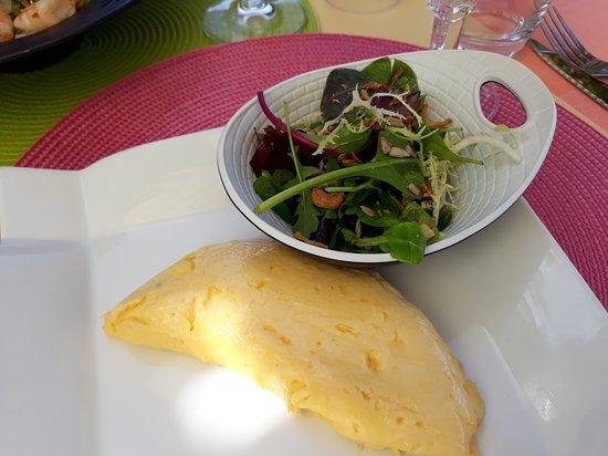 L'Esplanade: omelette per spuntino