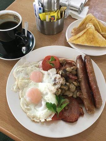 Inglewood, Australia: Great big breakfast