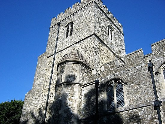 West Malling, UK: Imposing tower