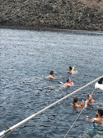 Photos Of Santorini Sailing Dream Catcher With BBQ Lunch And Drinks Delectable Dream Catcher Boat Santorini