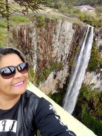 Cachoeira do Avencal: Momento mágico!