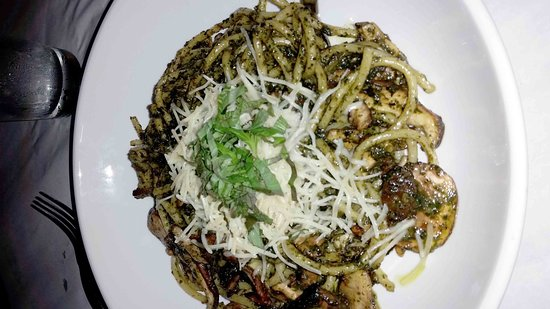 wild mushroom buccatini