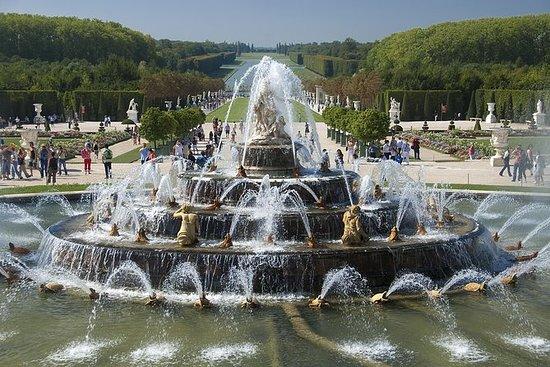Ingresso aos Jardins de Versalhes: Show de verão nas fontes musicais