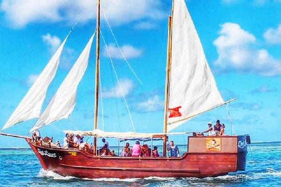 海盗船游览Ile aux Cerfs午餐和浮潜