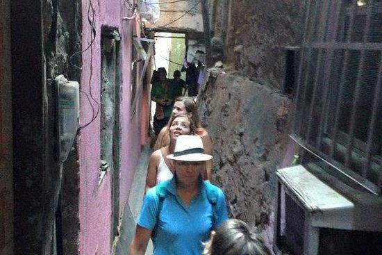 Excursão pela favela do Rio de Janeiro