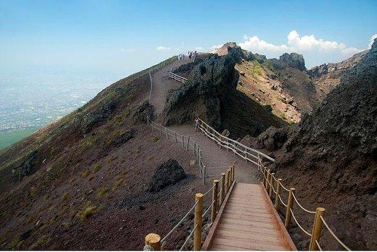 Mt Vesuvius Halvdagstur fra Sorrento