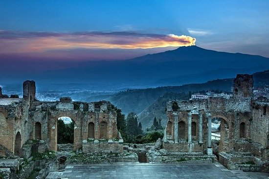 Etna og Taormina Tour fra Messina