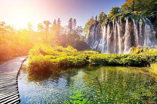 Plitvice Lakes Guided Day Trip from...