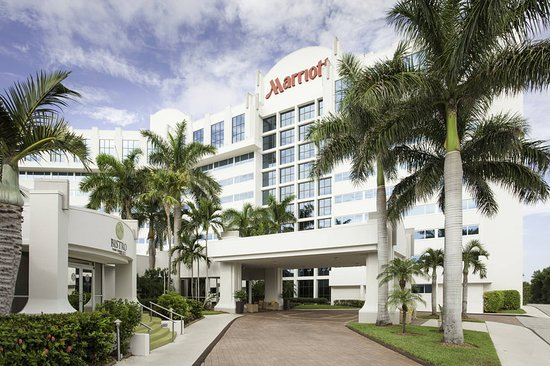 WEST PALM BEACH MARRIOTT Updated Prices Hotel Reviews FL - Car show palm beach convention center