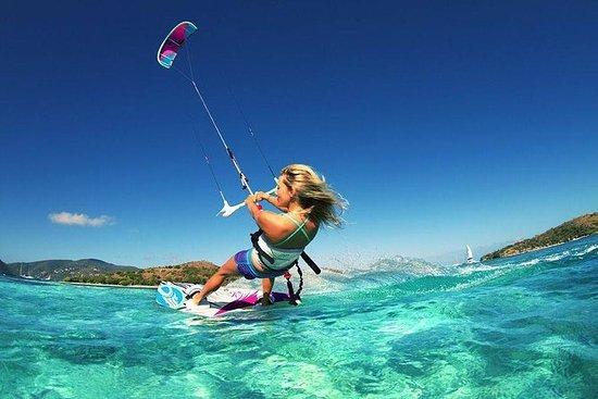 Kiteboarding-leksjon i Cartagena