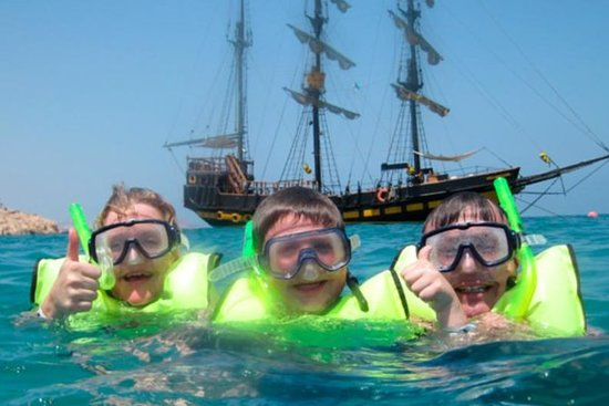 Pirate Ship Breakfast and Snorkel...