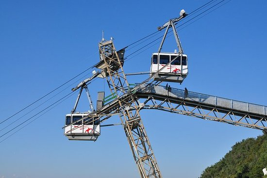 Gibraltar's Top of the Rock Cable Car...