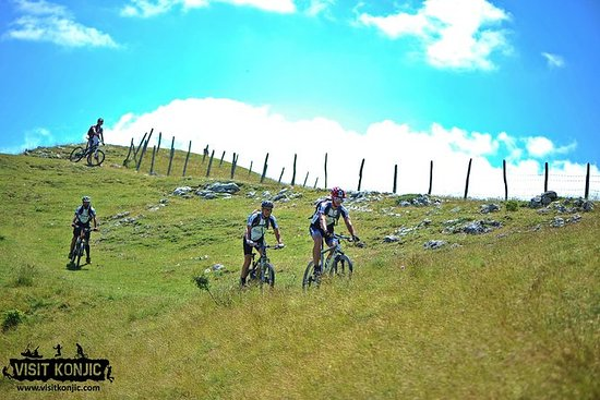 Mountain biking tour from Bjelasnica...