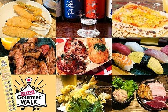 Paseo Gourmet de Osaka