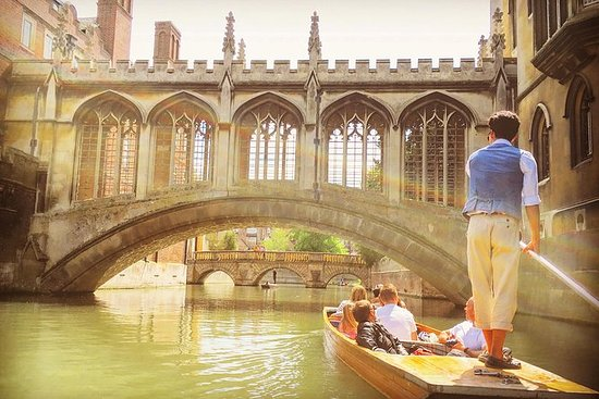 Rutherfords Punting Tours i Cambridge