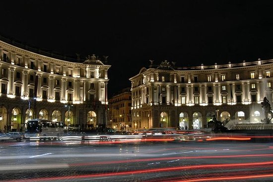 Recorrido nocturno por Roma