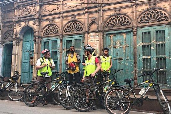 Excursão de bicicleta em Old Delhi