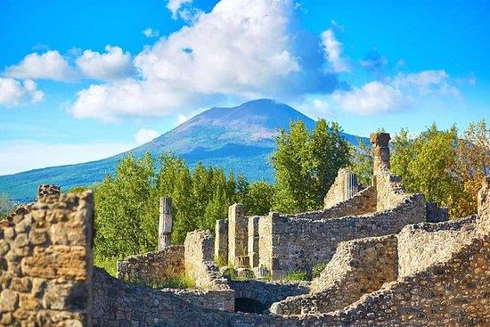 Pompeii og Vesuvius bådtur fra Capri