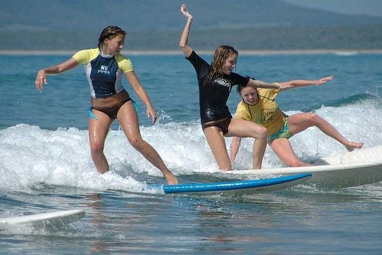 Surf lektioner