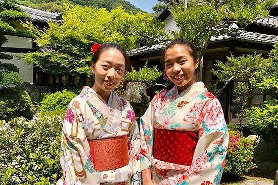 Kimono Experience in Gorgeous...