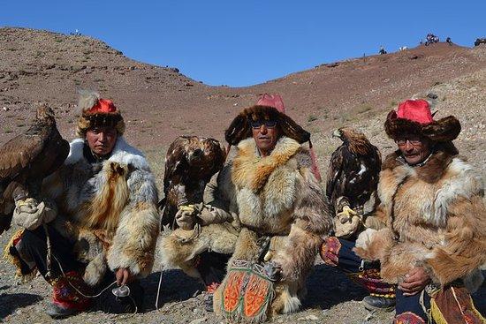 Descubra o caçador águia nômade