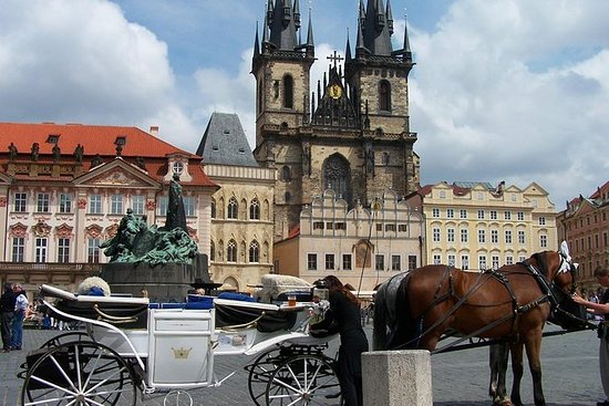 Visita a pie de Praga (casco antiguo...